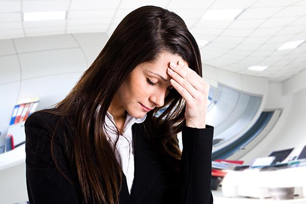 Gewichtsverlust Stress Angst