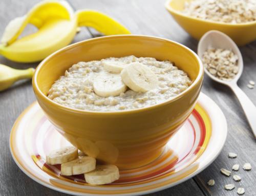 Lebensmittel zum zunehmen: Porridge